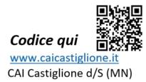 CAI Castiglione - etichetta materiale